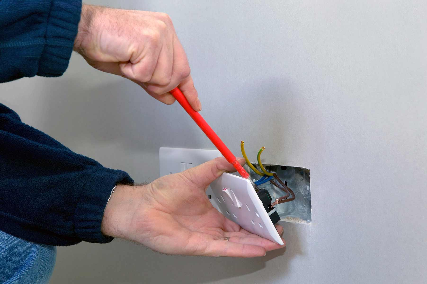 Our electricians can install plug sockets for domestic and commercial proeprties in Whitechapel and the local area.